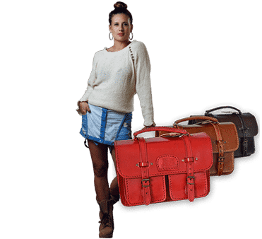 Cotton Knits & handcrafted leather bags
