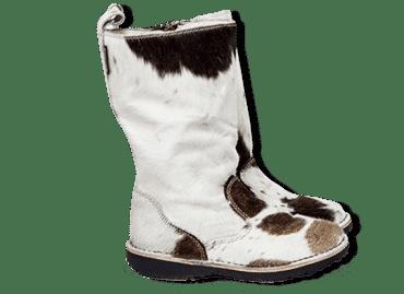 White Nguni boot